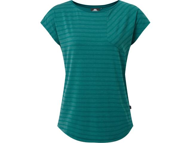 Mountain Equipment Silhouette T-shirt Femme, spruce stripe/spruce